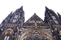 Antique neo-gothic architecture church building Royalty Free Stock Images