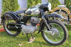 Antique NSU motorcycle Royalty Free Stock Photos