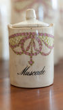 Antique nutmeg Royalty Free Stock Photos