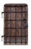 Antique oak doors Royalty Free Stock Images