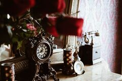 Antique objects Royalty Free Stock Images