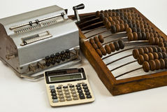 Antique office equipment. Stock Images