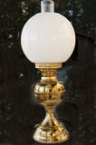 Antique oil lamp Royalty Free Stock Image