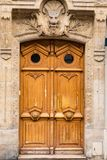 Antique old gothic door handle Stock Photography