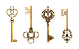 Free Antique Old Keys Royalty Free Stock Photos - 101442678