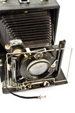 Antique Old photo Camera Stock Photos