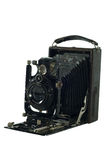 Antique Old photo Camera. Royalty Free Stock Image