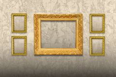 Antique old picture frame Royalty Free Stock Photography
