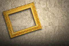 Antique old picture frame Royalty Free Stock Photo