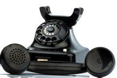 Antique, old retro phone Stock Photo