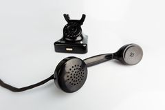 Antique, old retro phone. Stock Image