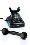 Antique, old retro phone. Stock Images