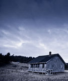 Antique old school house Stock Image