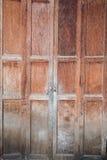 Antique Old wood door Royalty Free Stock Photos
