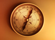 Antique сompass Stock Images