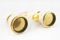 Antique opera binoculars Royalty Free Stock Image