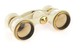 Antique opera glasses stock photography