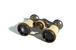 Antique opera glasses Royalty Free Stock Photos