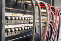 Antique Operator Switchboard Royalty Free Stock Image