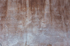 Antique orange textured wall from stone in Rome Royalty Free Stock Photos