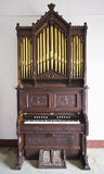 Antique organ Royalty Free Stock Photography