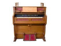Antique organ Royalty Free Stock Images