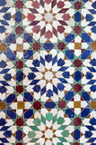 Antique oriental mosaic from Morocco. Stock Photography