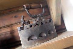 Antique original vintage cast flat iron Stock Photography
