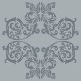 Antique ornament. Illustration of an antique baroque ornament tile; it can be used continuously royalty free illustration