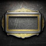 Antique ornament frame Stock Image