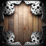 Antique ornament frame Royalty Free Stock Photo