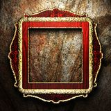 Antique ornament frame Stock Images