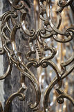 Antique ornamental fence Stock Photography