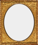 Antique Ornate Gold Frame Stock Photos