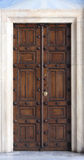 Antique Orthodox Church Door Royalty Free Stock Photo