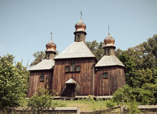Antique orthodox church Royalty Free Stock Photos