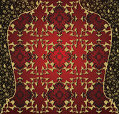 Antique ottoman gold design Stock Photography