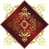 Antique ottoman gold design Stock Photography