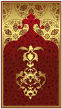 Antique ottoman gold design Stock Photo