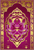 Antique ottoman gold design Royalty Free Stock Photo