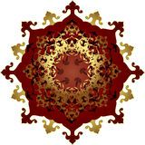 Antique ottoman gold design Royalty Free Stock Photos