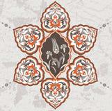 Antique ottoman grungy wallpaper design Stock Photography