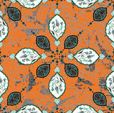 Antique ottoman grungy wallpaper design Royalty Free Stock Photography