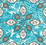 Antique ottoman grungy wallpaper design Royalty Free Stock Image