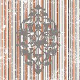 Antique ottoman grungy wallpaper raster design Royalty Free Stock Photo