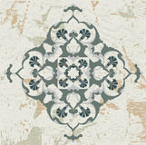 Antique ottoman grungy wallpaper raster design Stock Image