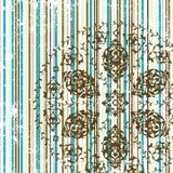 Antique ottoman grungy wallpaper raster design Stock Photography