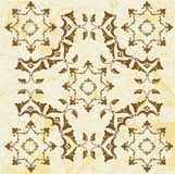 Antique ottoman grungy wallpaper raster design Royalty Free Stock Photos