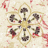 Antique ottoman grungy wallpaper vector design Stock Images