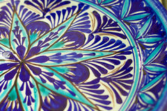 Antique Ottoman plate Royalty Free Stock Image